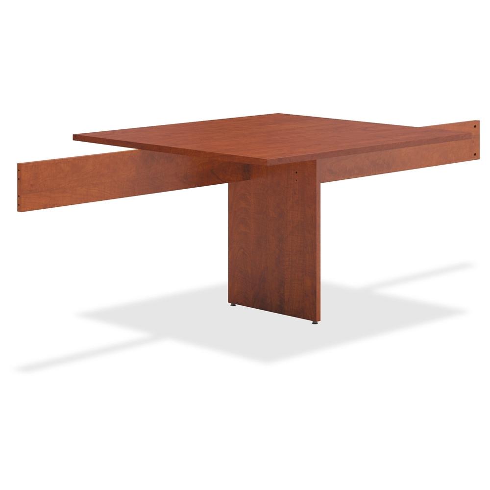 Basyx By Hon Medium Cherry Slab Base Table Adder