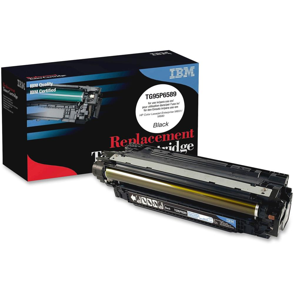 IBM Remanufactured Toner Cartridge - Alternative for HP 652A (CF320A) - Laser - 11500 Pages - Black - 1 Each. The main picture.