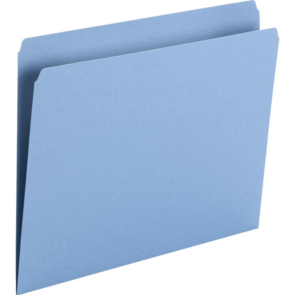 Smead Top Tab Colored Folders Letter 8 1 2 Quot X 11