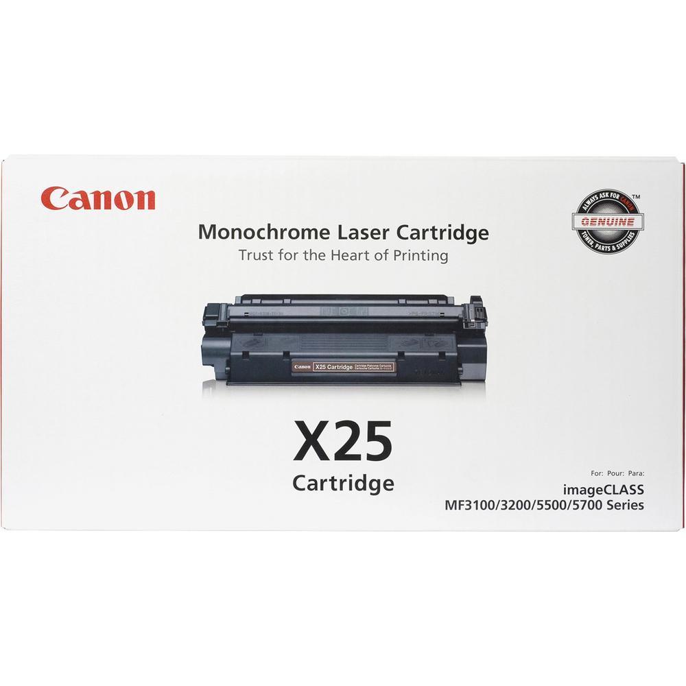 Canon Cartridge X25 Original Toner - Laser - 2500 Pages - Black - 1 Each. Picture 1