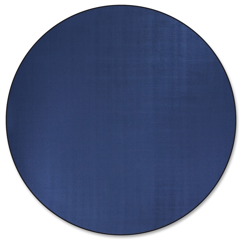 Flagship Carpets Classic Solid Color 12 Round Rug Floor