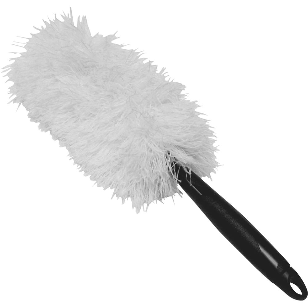impact products microfiber 2 in 1 handheld duster 20 overall length 12 carton. Black Bedroom Furniture Sets. Home Design Ideas