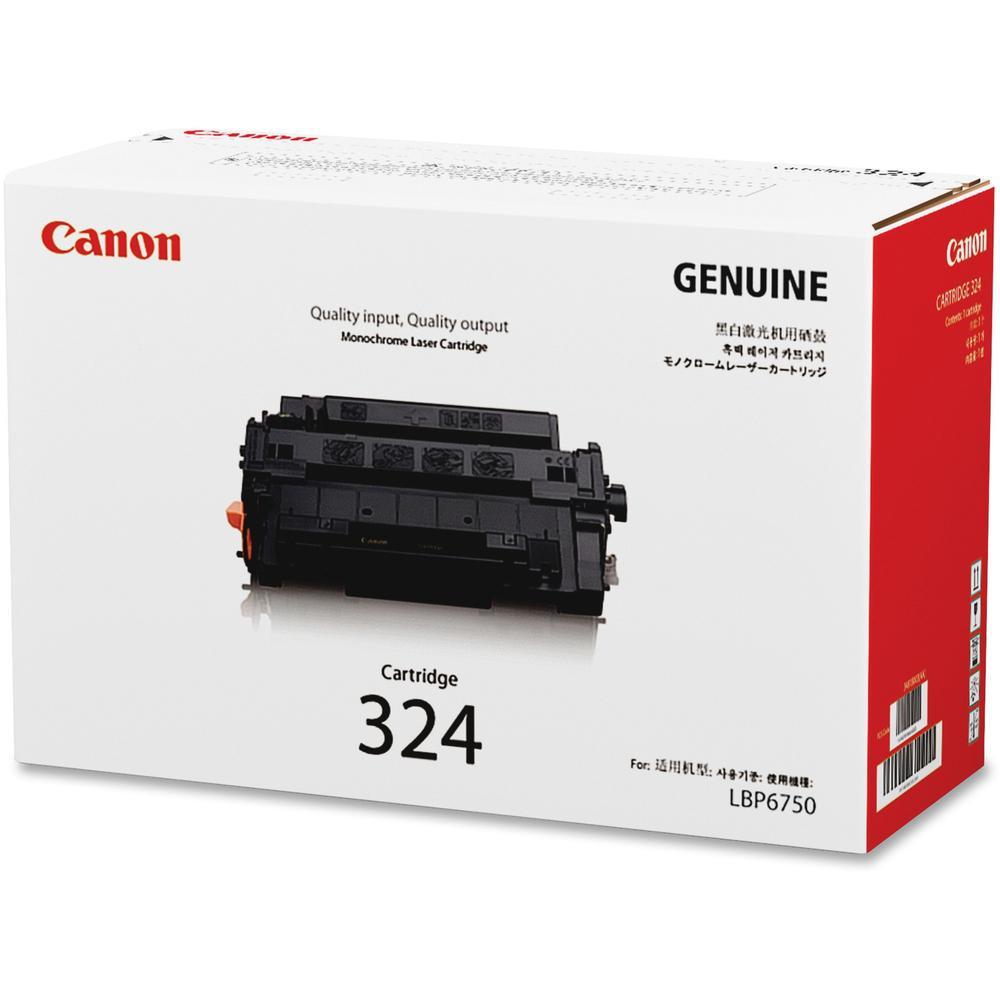 Canon 324 Original Toner Cartridge - Laser - Standard Yield - 11000 Pages - Black - 1 Each. Picture 1