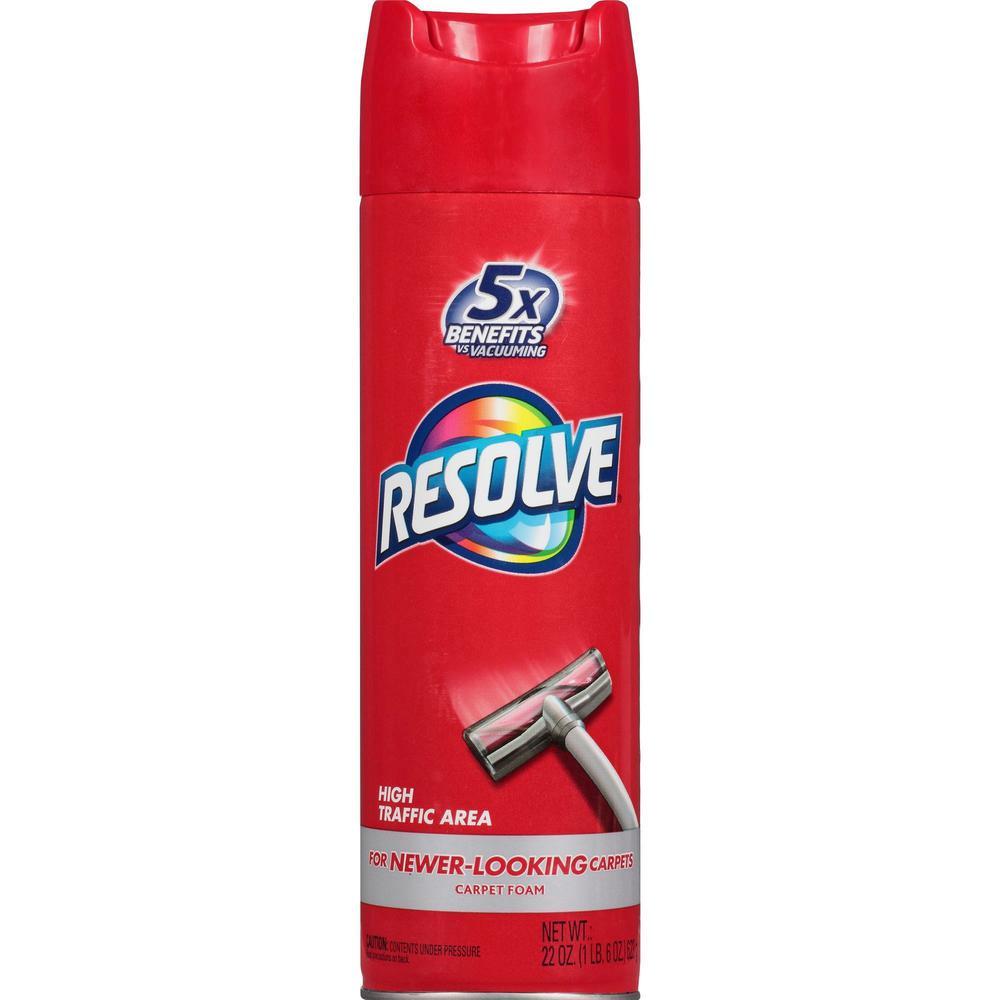 Resolve Carpet Foam Foam Spray 0 17 Gal 22 Fl Oz