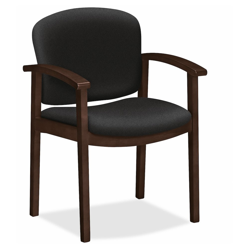 20 Inch Seat Heigh Accent Chair: HON Invitation Guest Chair, Fixed Arms