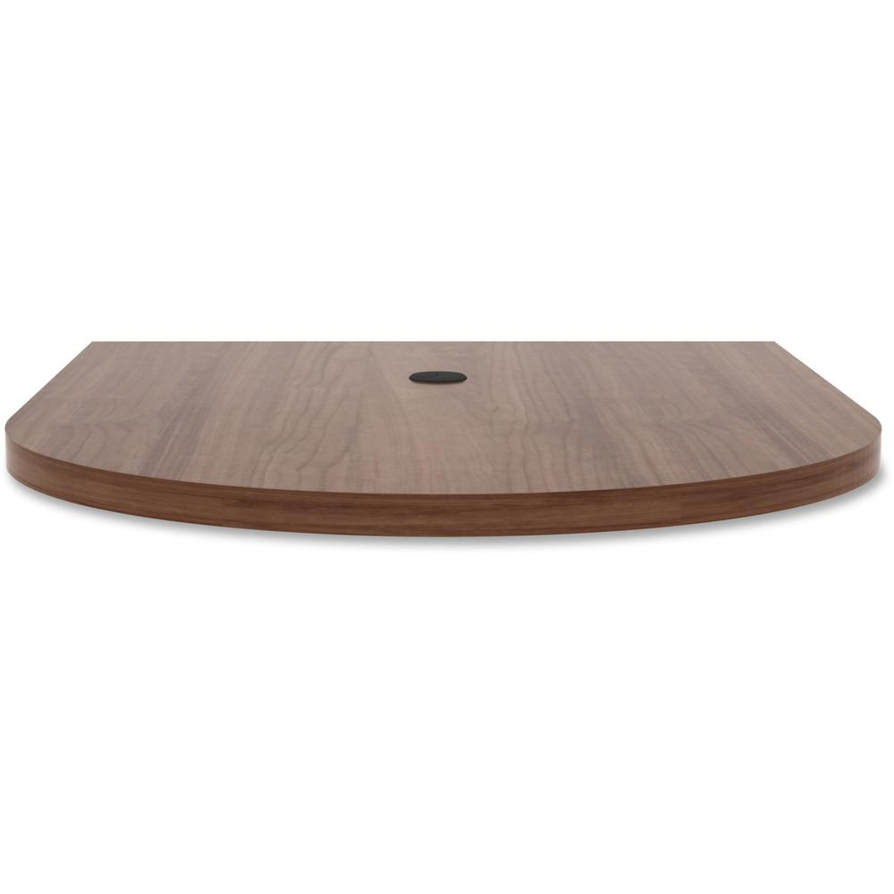 Lorell Prominence Conference Table Top Oval Top Table Top - Conference table width