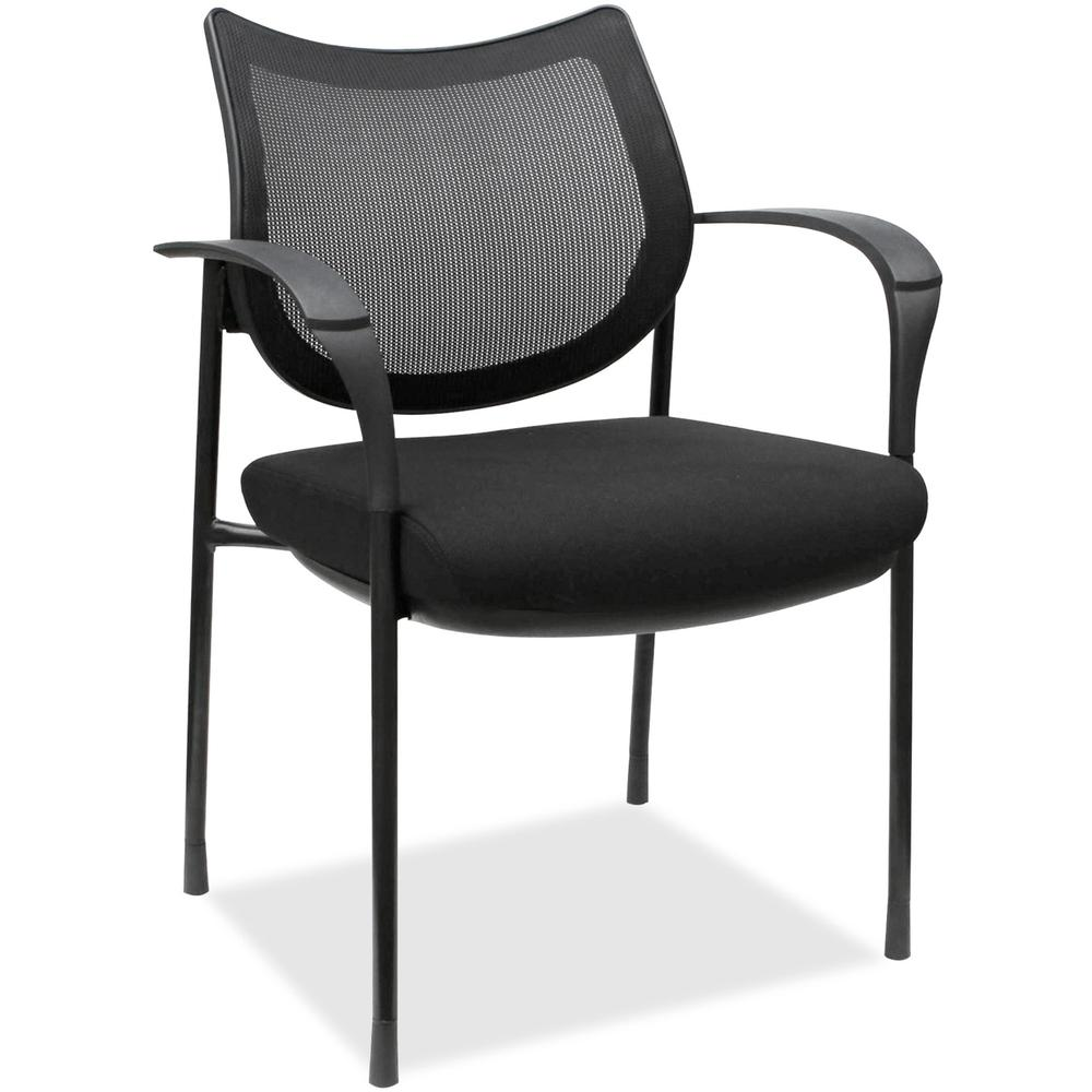 Lorell Mesh Back Guest Chair - Fabric Seat