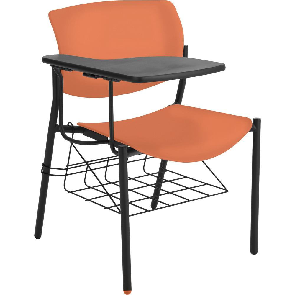 Lorell Writing Tablet Student Chairs Tubular Steel