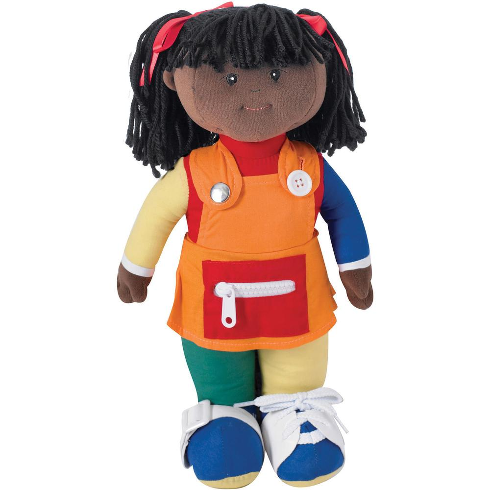Children's Factory Learn to Dress - African American Girl - Multi. Picture 1