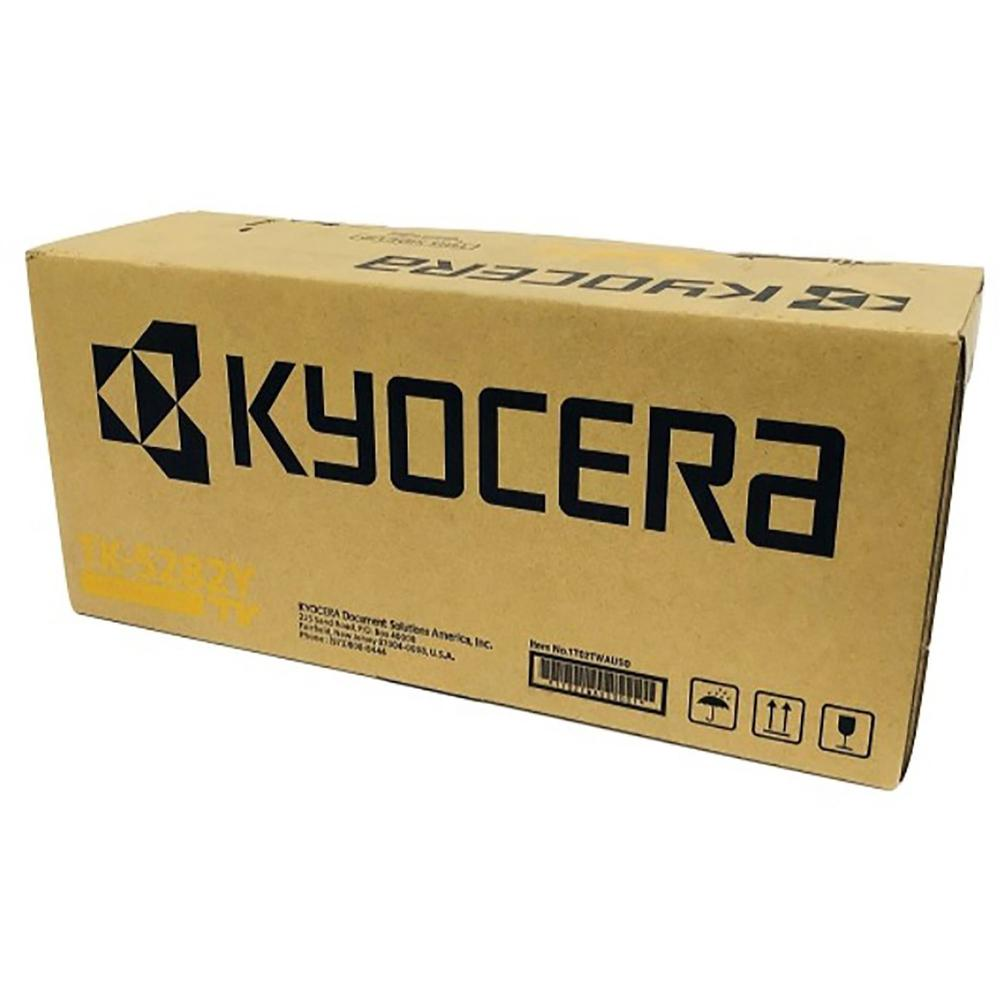 Kyocera TK-5282Y Original Toner Cartridge - Yellow - Laser - 11000 Pages - 1 Each. Picture 1