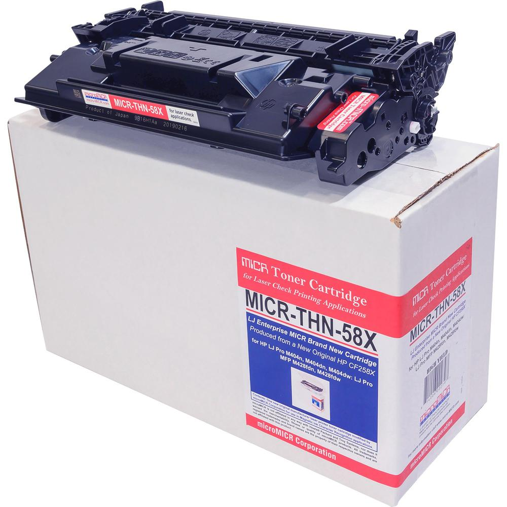 microMICR MICR Toner Cartridge - Alternative for HP 58X - Laser - 10000 Pages - 1 Each. Picture 1