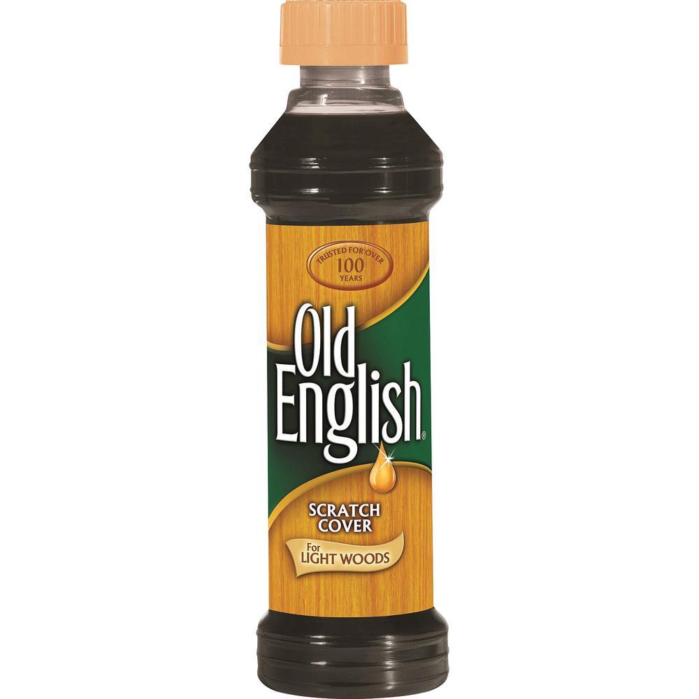 Old English Scratch Cover Polish - Liquid - 8 fl oz (0.3 quart) - 6 / Carton - Brown. Picture 1