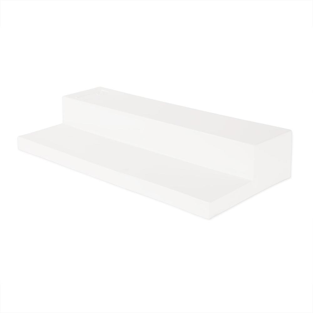 Champion Sports Youth Step Down Pitching Rubber - White - Rubber. Picture 1