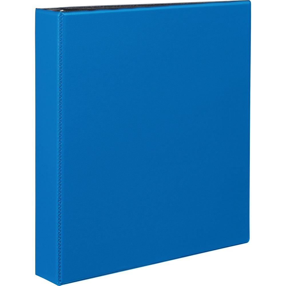 """Avery® Durable Binder - DuraHinge - 1 1/2"""" Binder Capacity - Letter - 8 1/2"""" x 11"""" Sheet Size - 375 Sheet Capacity - 3 x Slant D-Ring Fastener(s) - 2 Internal Pocket(s) - Blue - Recycled - Gap-fre. Picture 1"""