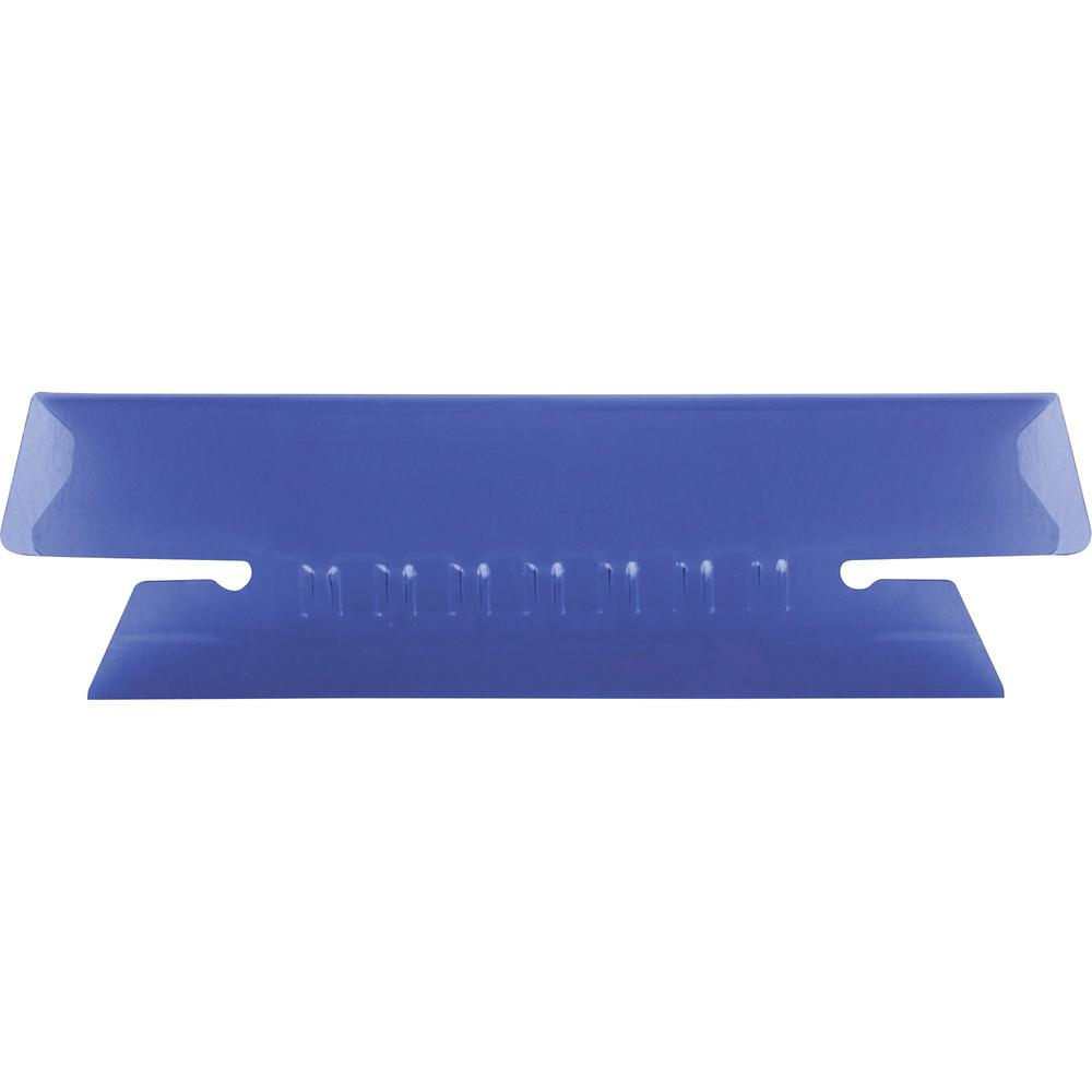 "Pendaflex Hanging Folder Plastic Insertable Tabs - 25 Tab(s) - 3 Tab(s)/Set3.50"" Tab Width - Violet Plastic Tab(s) - 25 / Pack. Picture 1"