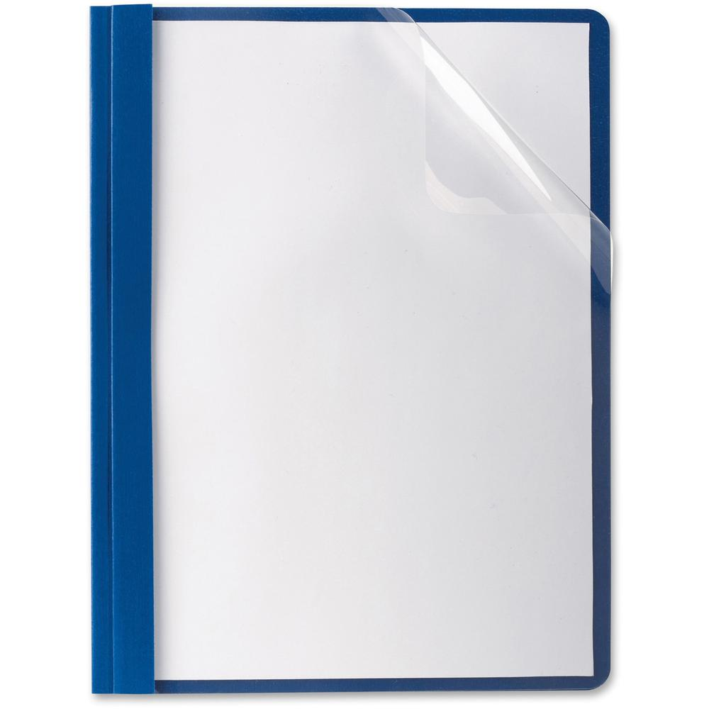 Oxford Premium Clear Front Report Covers Letter 8 1 2