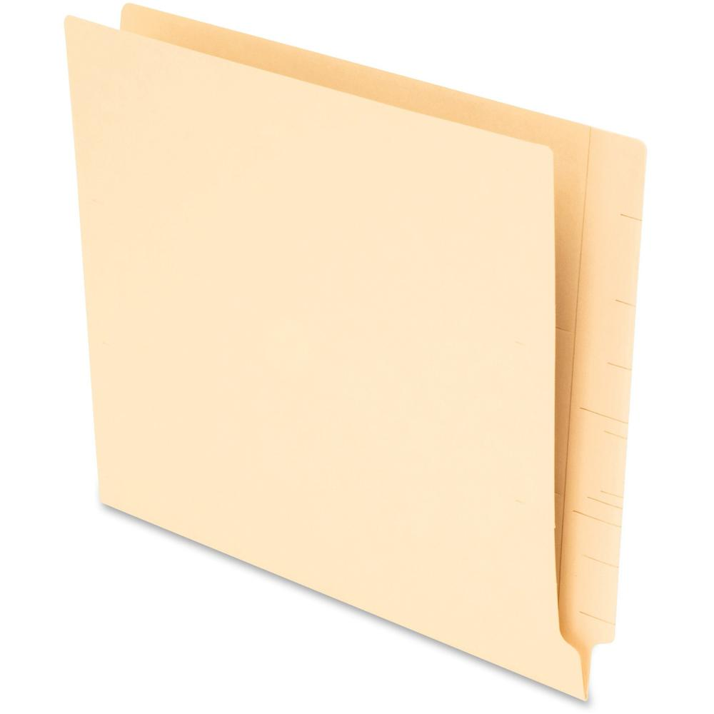 "Pendaflex 1/3 Cut End Tab File Folders - Letter - 8 1/2"" x 11"" Sheet Size - Manila - Recycled - 75 / Box. Picture 1"