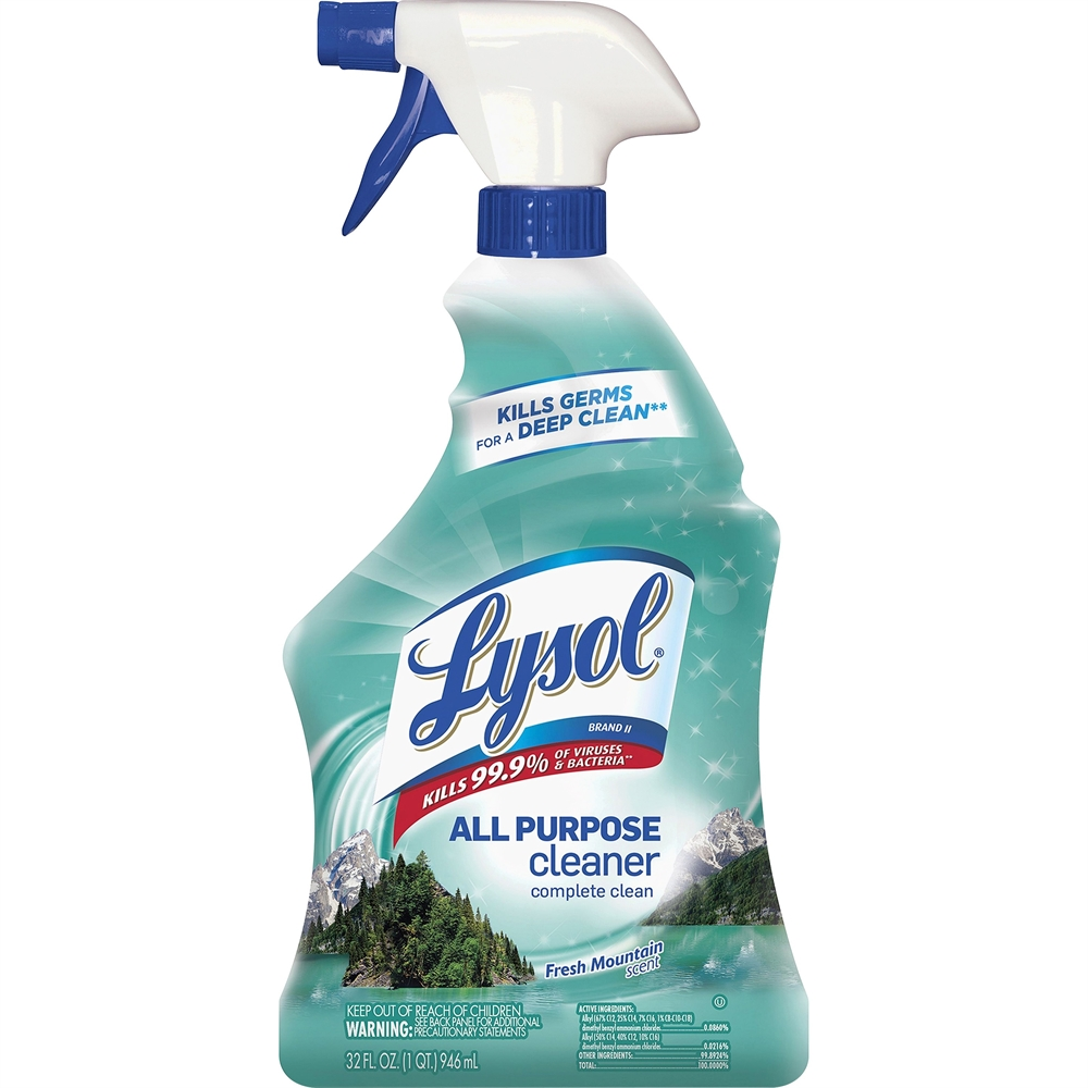 lysol fresh mountain all purpose cleaner ready to use. Black Bedroom Furniture Sets. Home Design Ideas