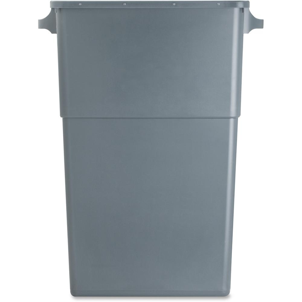 Genuine Joe Space Saving Waste Container 23 Gal Capacity