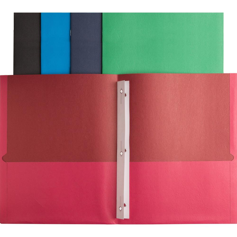 Binders /& Binding Systems//Report Covers /& Pocket Portfolios Oxford Twin-Pocket Folders With 3 Fasteners Letter 1//2 Capacity Burgundy 25//Box Product Category