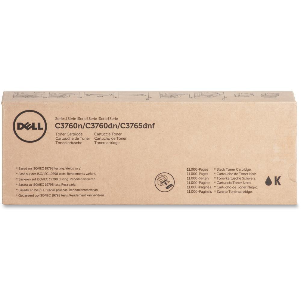 Dell Original Toner Cartridge - Laser - 11000 Pages - Black - 1 Each. Picture 1