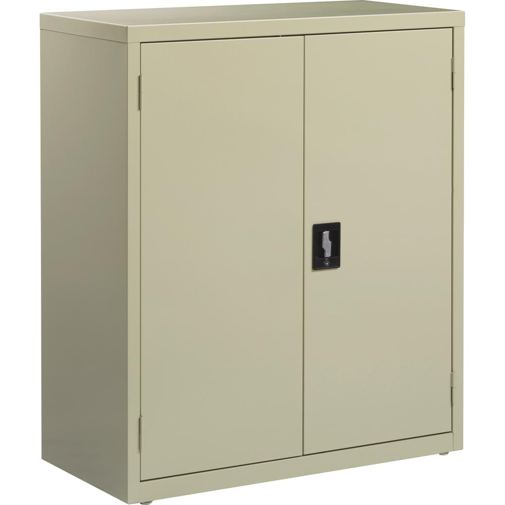 Lorell Fortress Series Storage Cabinets 18 X 36 X 42 3 X Shelf Ves Recessed Locking