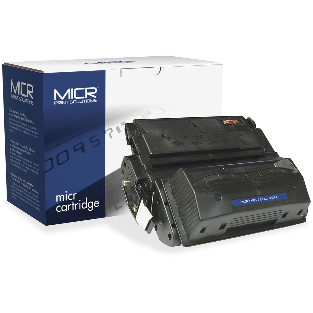 MICR Tech Remanufactured MICR Toner Cartridge - Alternative for HP 39A (Q1339A) - Laser - 18000 Pages - Black - 1 Each. Picture 1
