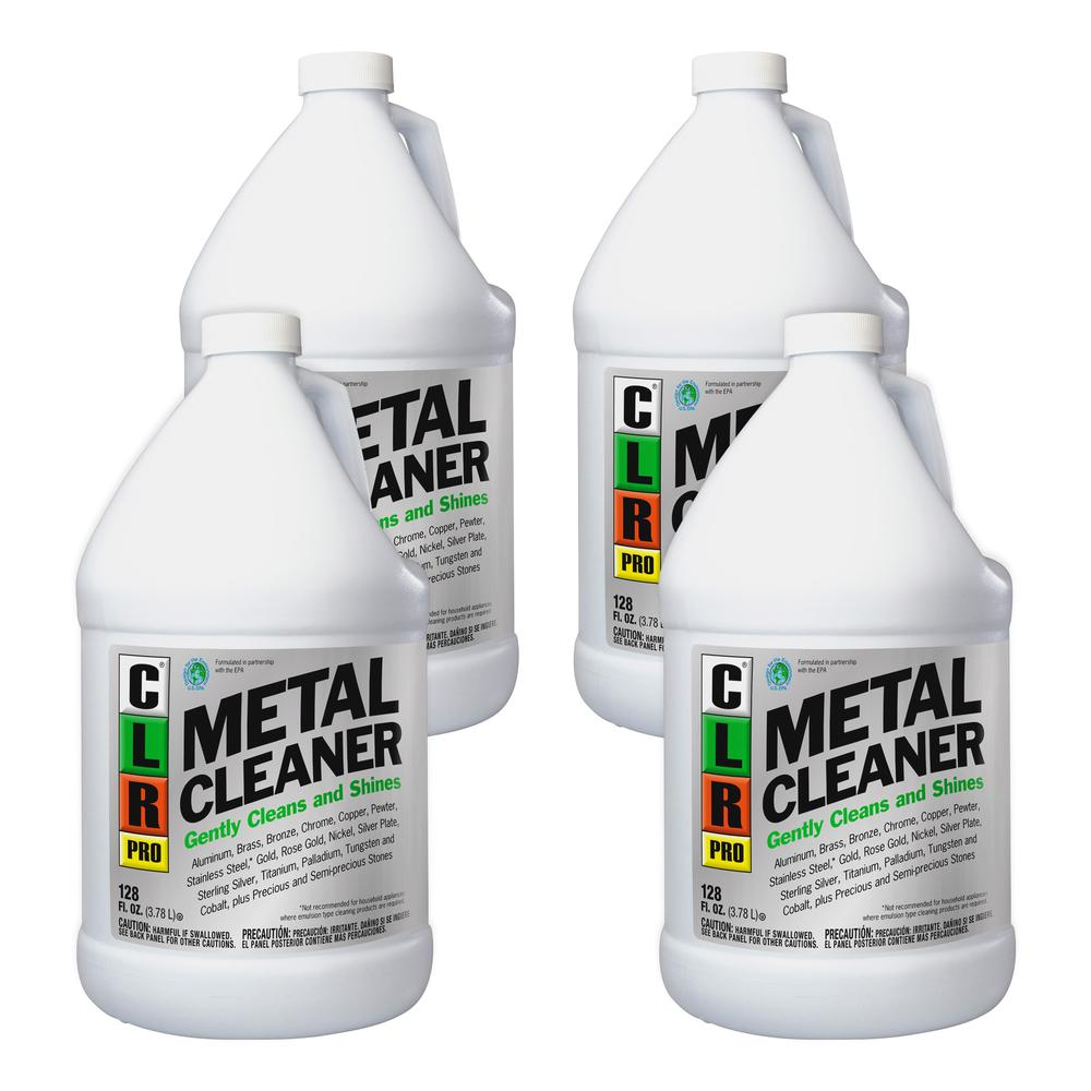 Clr Jelmar Llc Pro Metal Cleaner 1 Gal 128 Fl Oz 4