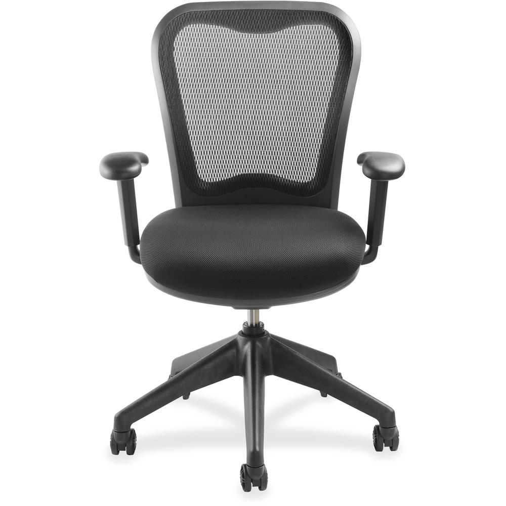 Lorell Mesh Back Task Chair With Swivel Tilt Fabric