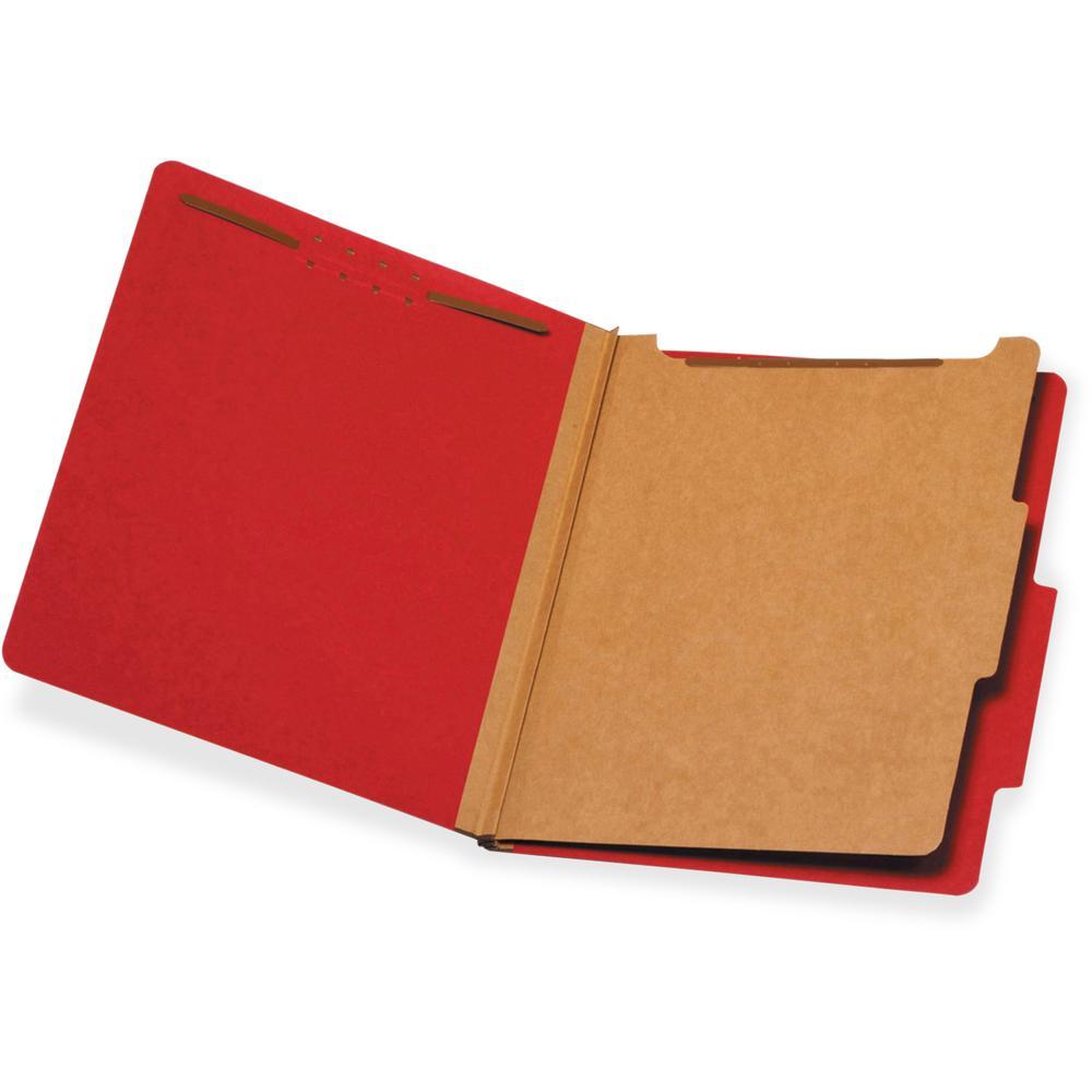 "Pendaflex 1-Divider Classification Folders - Letter - 8 1/2"" x 11"" Sheet Size - 1 3/4"" Expansion - 2 Fastener(s) - 2"" Fastener Capacity for Folder, 1"" Fastener Capacity for Divider - 2/5 Tab Cut - Top. Picture 1"