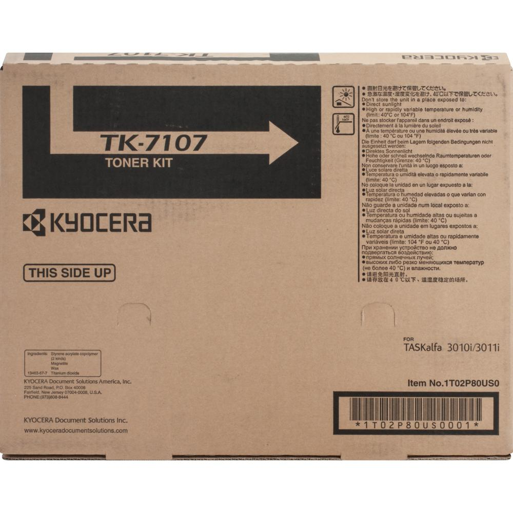 Kyocera Original Toner Cartridge - 20000 Pages - Black - 1 Each. The main picture.
