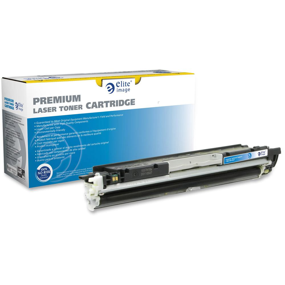 Elite Image Remanufactured Toner Cartridge - Alternative for HP 130A - Laser - 1000 Pages - Yellow - 1 Each. Picture 1