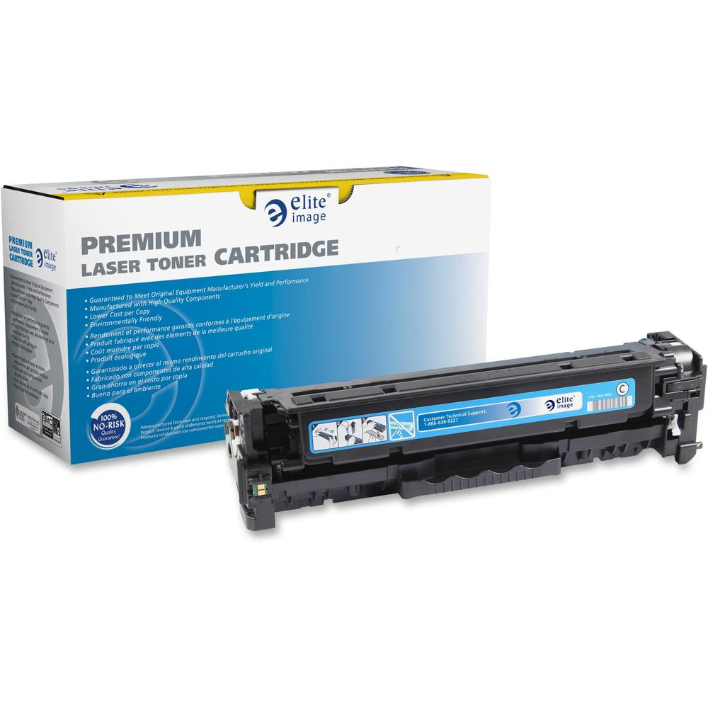 Elite Image Remanufactured Toner Cartridge - Alternative for HP 312A - Laser - 2700 Pages - Cyan - 1 Each. Picture 1