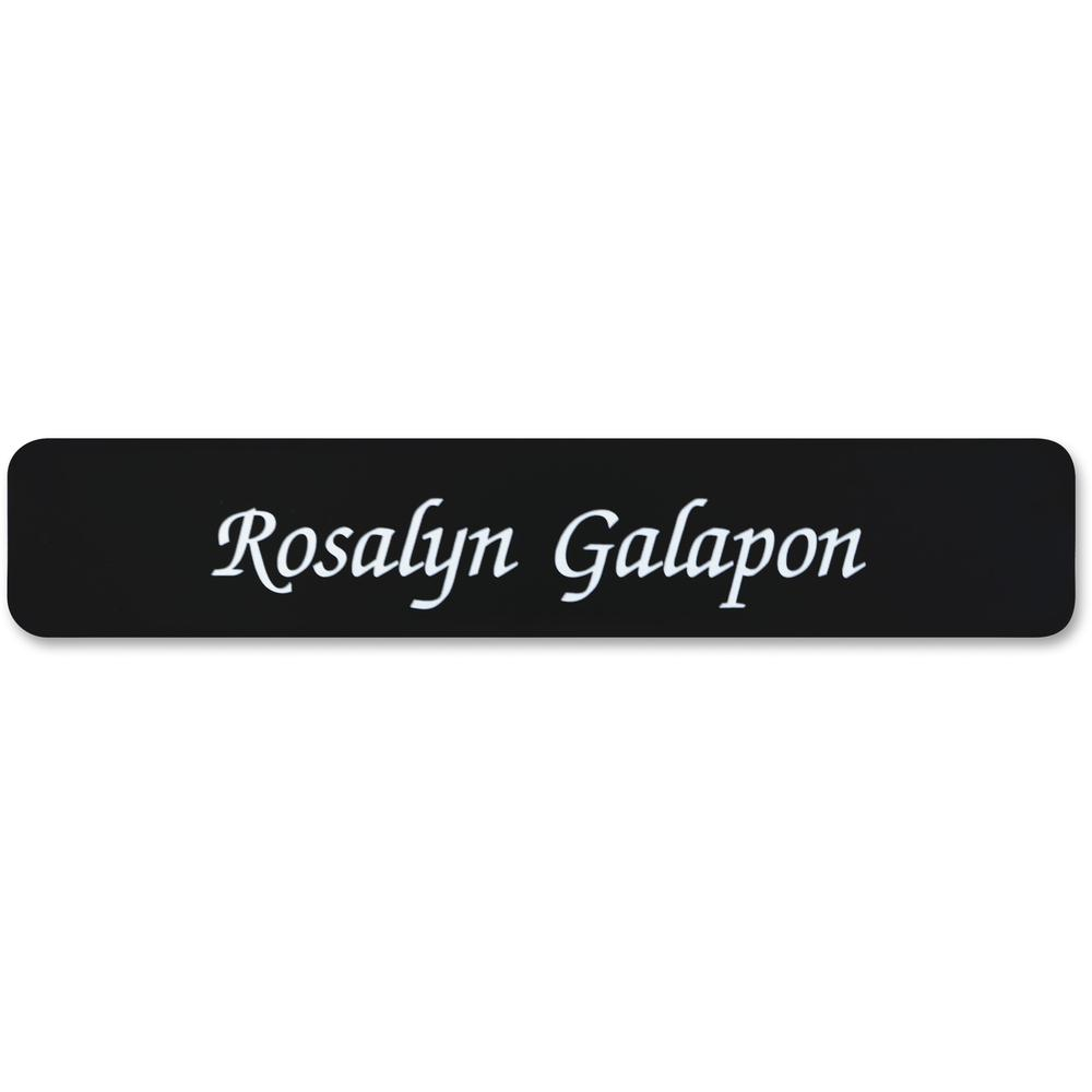 Xstamper 2 Quot X10 Quot Designer Name Plate Only 1 Each 10
