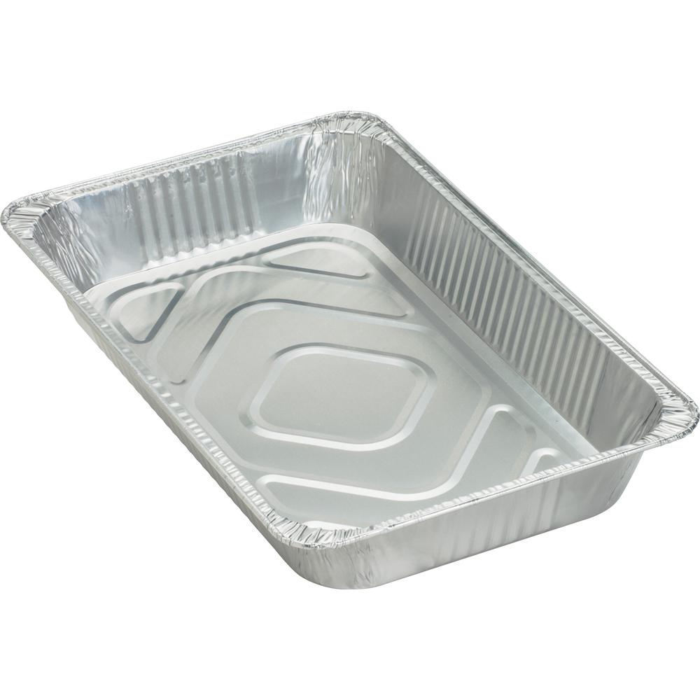 Genuine Joe Full Size Disposable Aluminum Pan 8 8 Quart