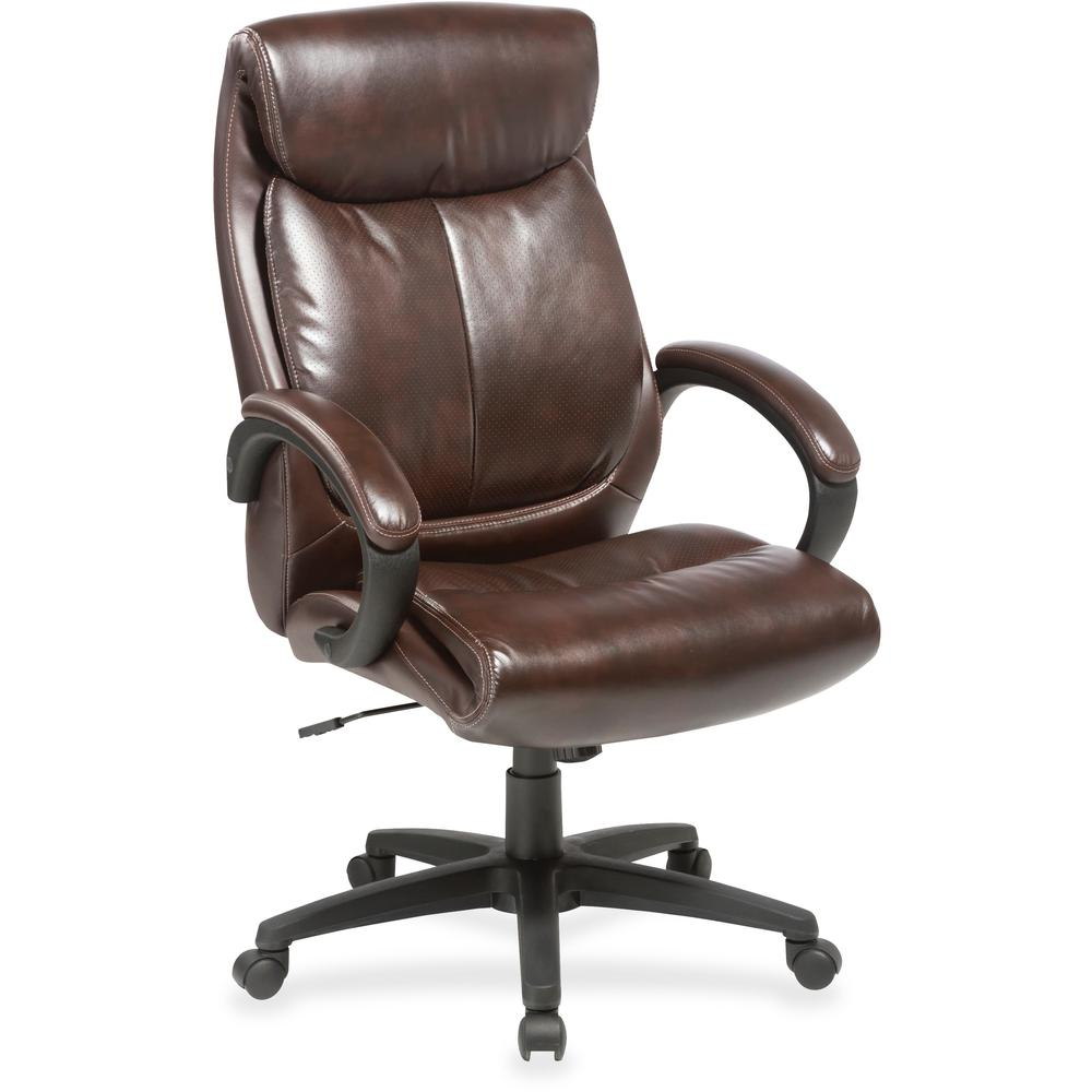 Lorell Executive Chair Brown Seat Brown Back 28