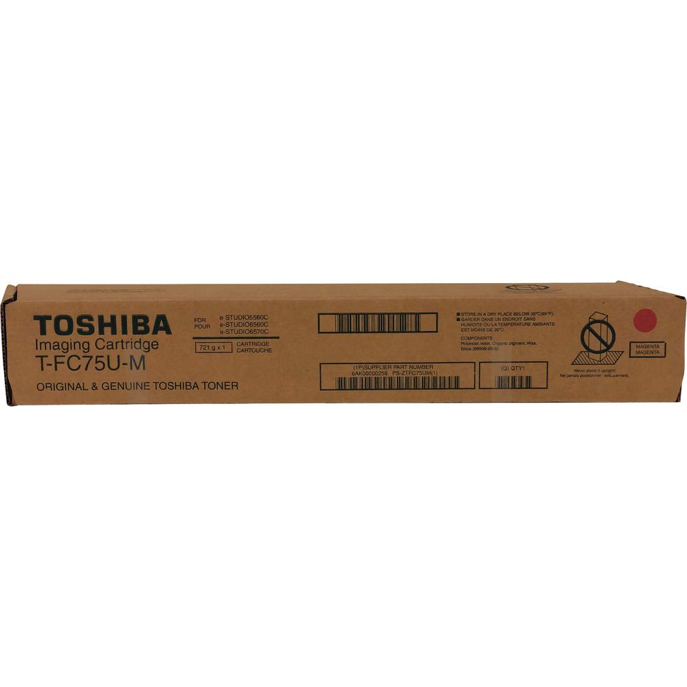 Toshiba Original Toner Cartridge - Magenta - Laser - Standard Yield - 29500 Pages - 1 Each. Picture 1
