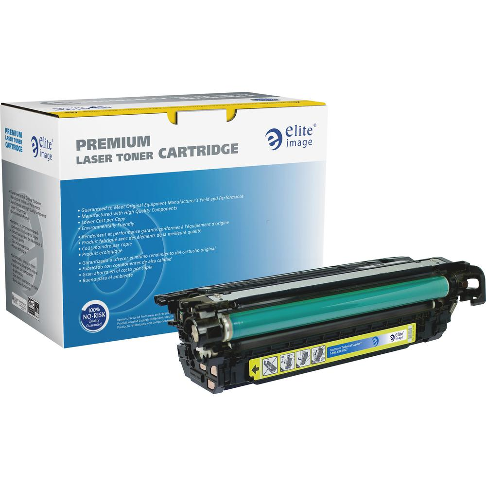 Elite Image Remanufactured Toner Cartridge - Alternative for HP CF322A - Laser - 16500 Pages - Yellow - 1 Each. Picture 1