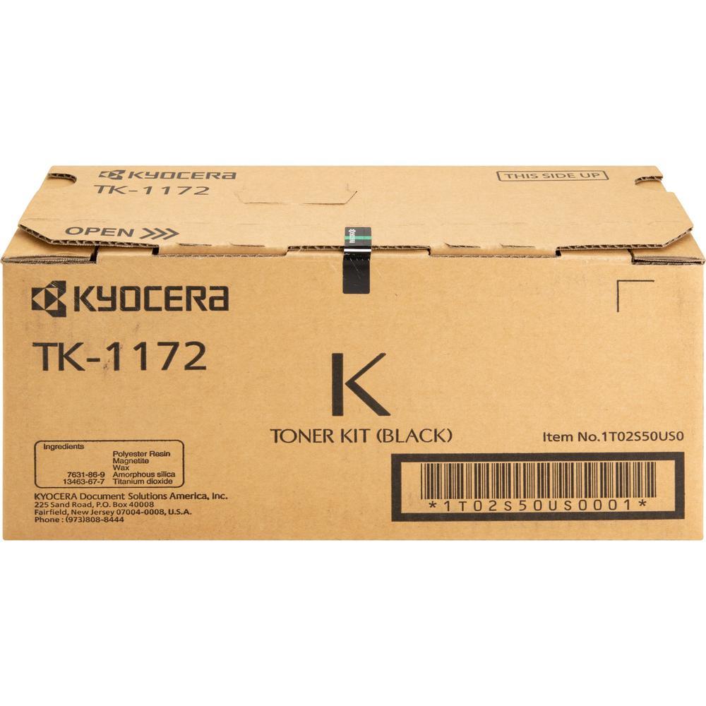 Kyocera TK-1172 Original Toner Cartridge - Black - Laser - 7200 Pages - 1 Each. Picture 1