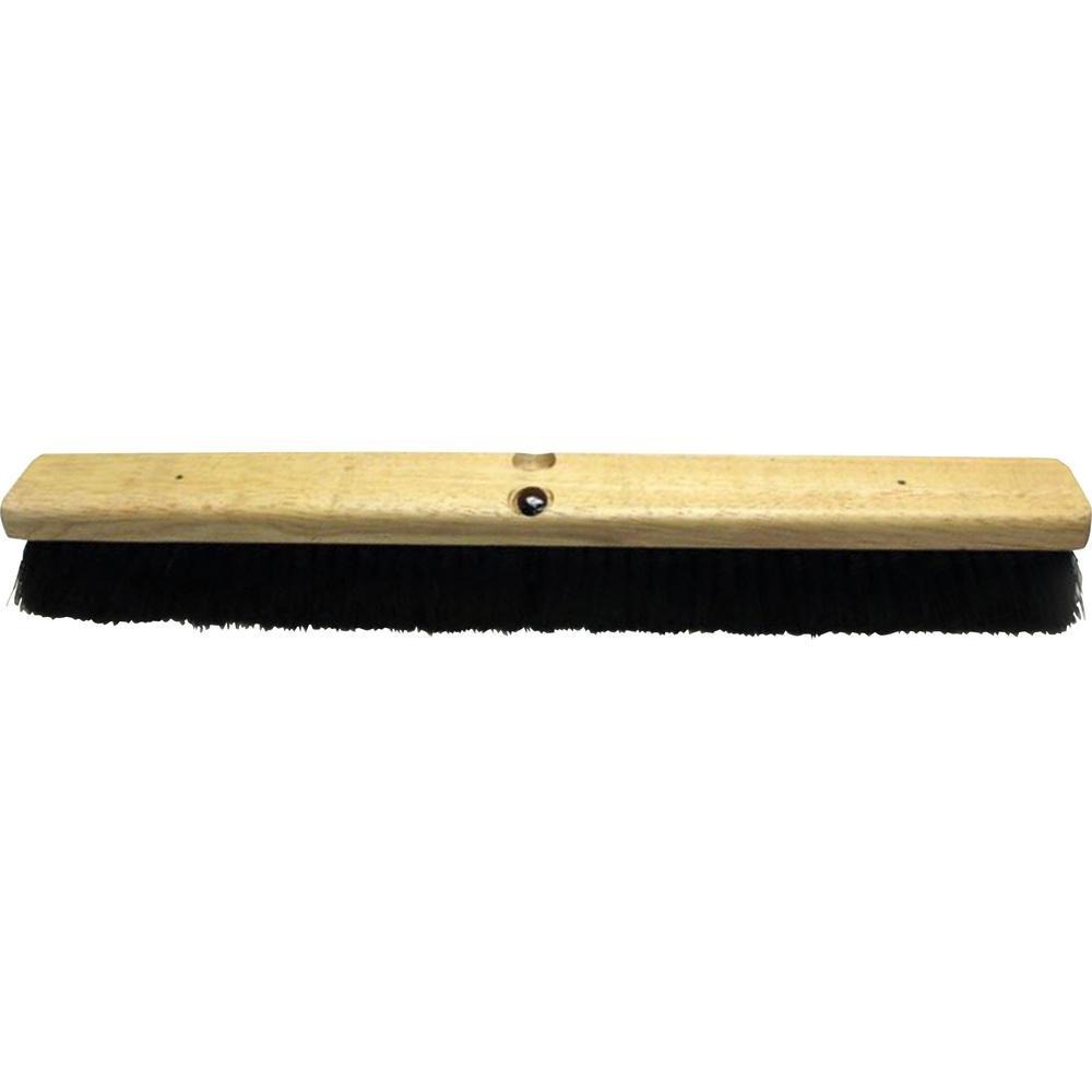 Genuine Joe Hardwood Block Tampico Broom Tampico Fiber