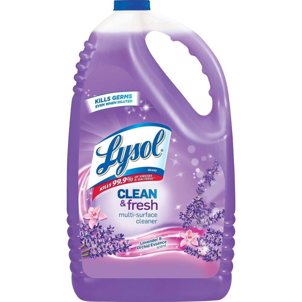 lysol clean fresh lavender cleaner liquid gal. Black Bedroom Furniture Sets. Home Design Ideas