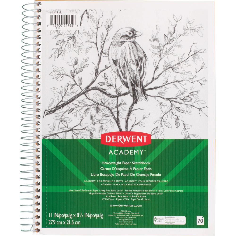 Mead Academy Heavyweight Paper Sketch Journal Letter