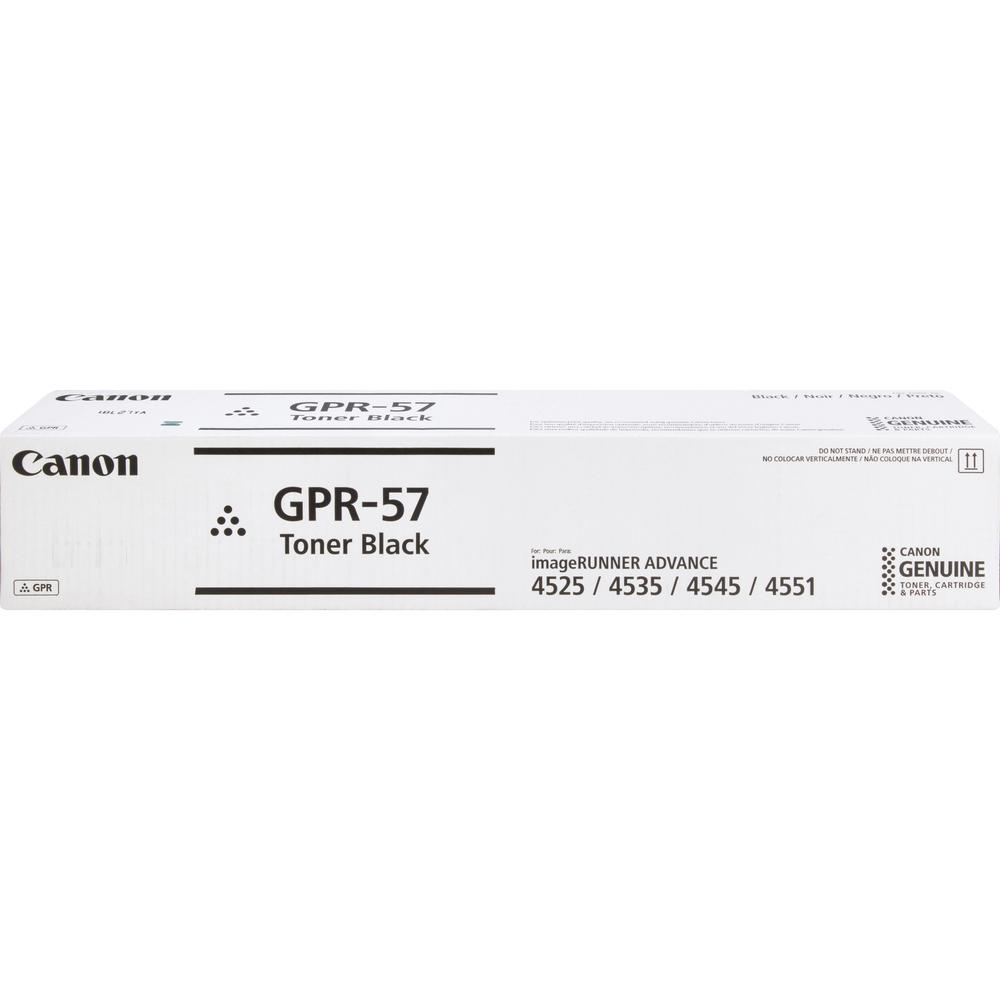 Canon GPR-57 Original Toner Cartridge - Black - Laser - 42100 Pages - 1 Each. Picture 1