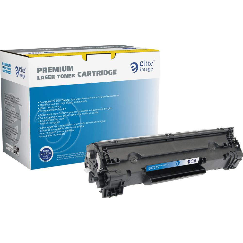 Elite Image Remanufactured MICR Toner Cartridge - Alternative for HP 83X (CF283X) - Black - Laser - High Yield - 22000 Pages - 1 Each. Picture 1