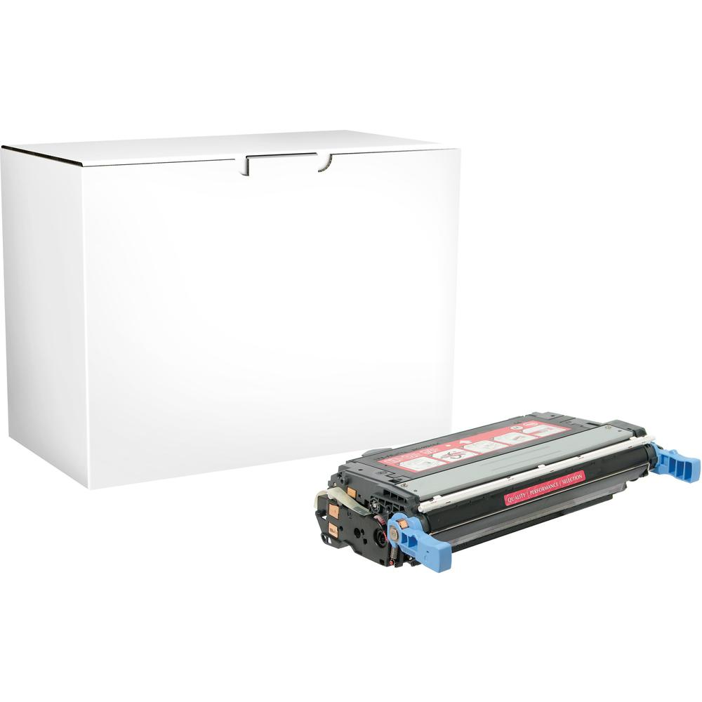 Elite Image Remanufactured Toner Cartridge - Alternative for HP 644A - Magenta - Laser - 12000 Pages - 1 Each. Picture 1