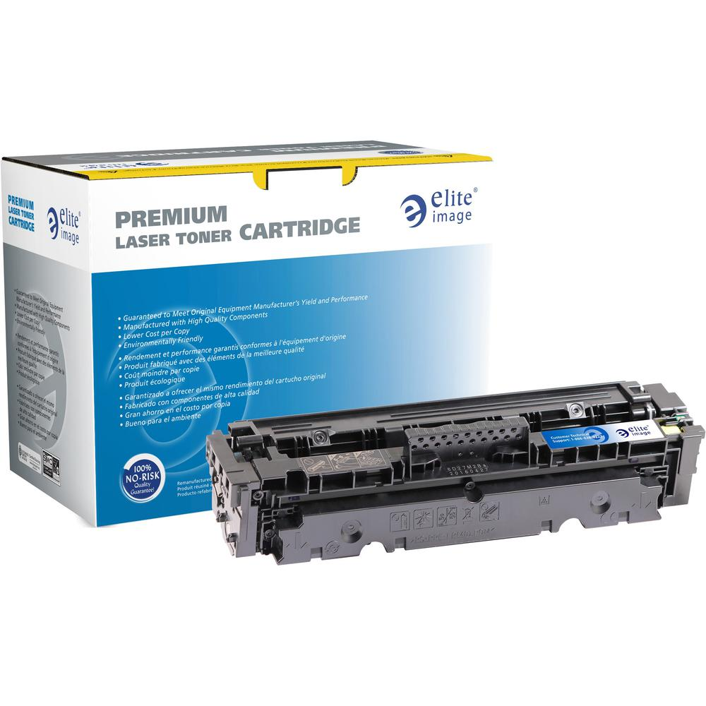 Elite Image Remanufactured Toner Cartridge - Alternative for HP 410X - Cyan - Laser - 5000 Pages - 1 Each. Picture 1