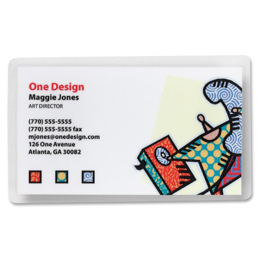 Great Laminating Pouches Business Card Size Ideas - Business Card ...