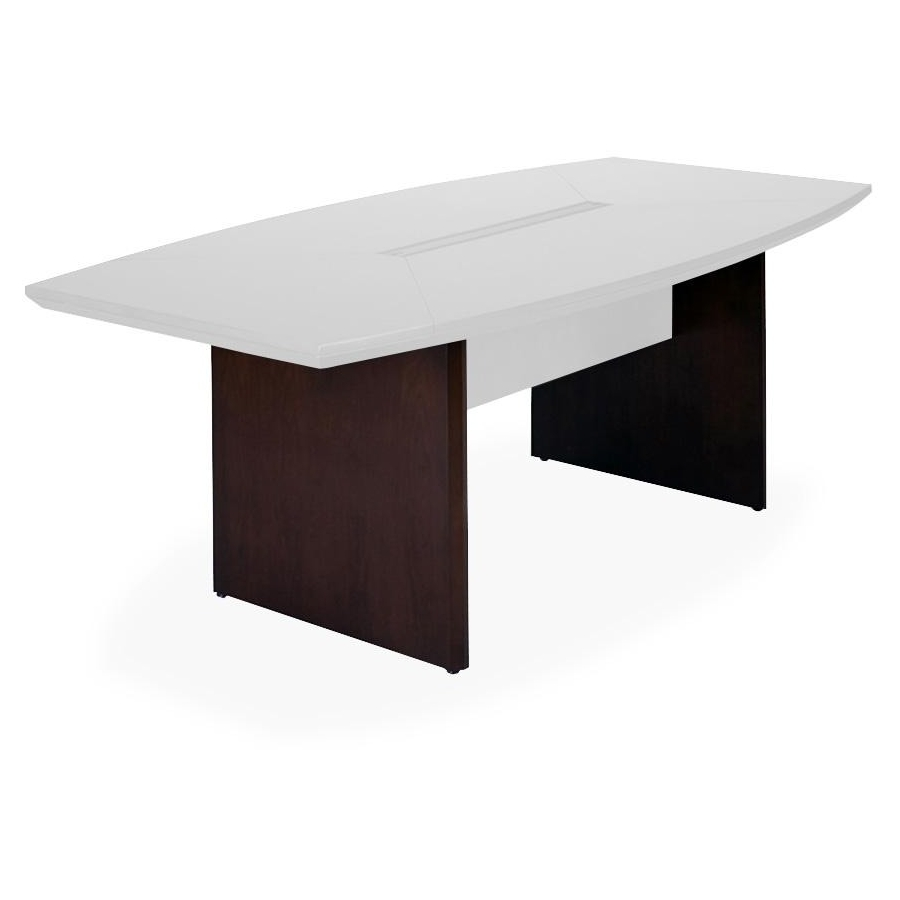 Mayline conference table base rectangle top boat base for 10 foot conference table