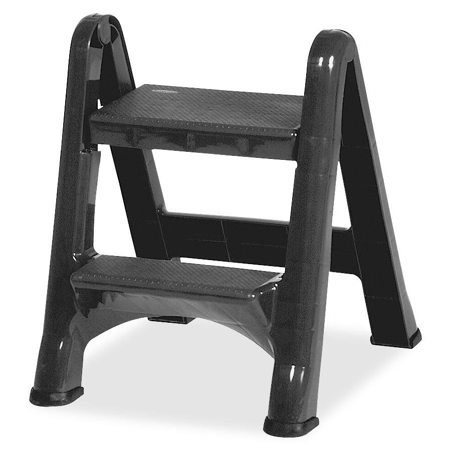Rubbermaid 3 Step Stool With Tray Rubbermaid 3 Step Steel