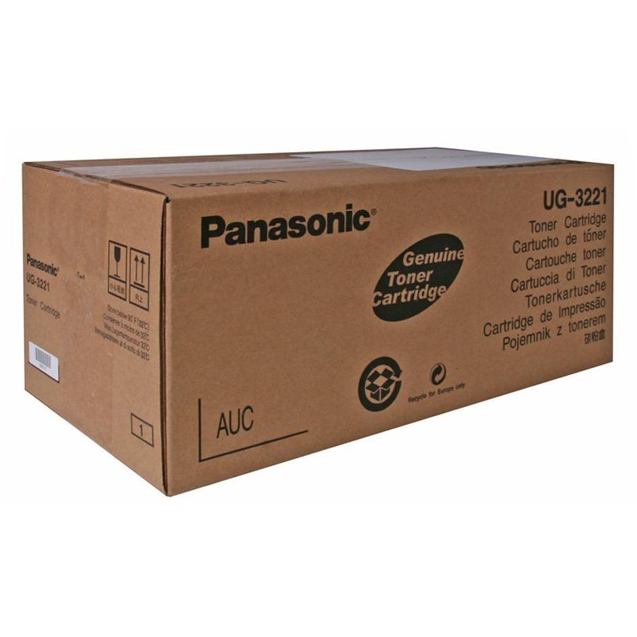 Panasonic UG3221 Original Toner Cartridge - Laser - 6000 Pages - Black - 1 Each. The main picture.